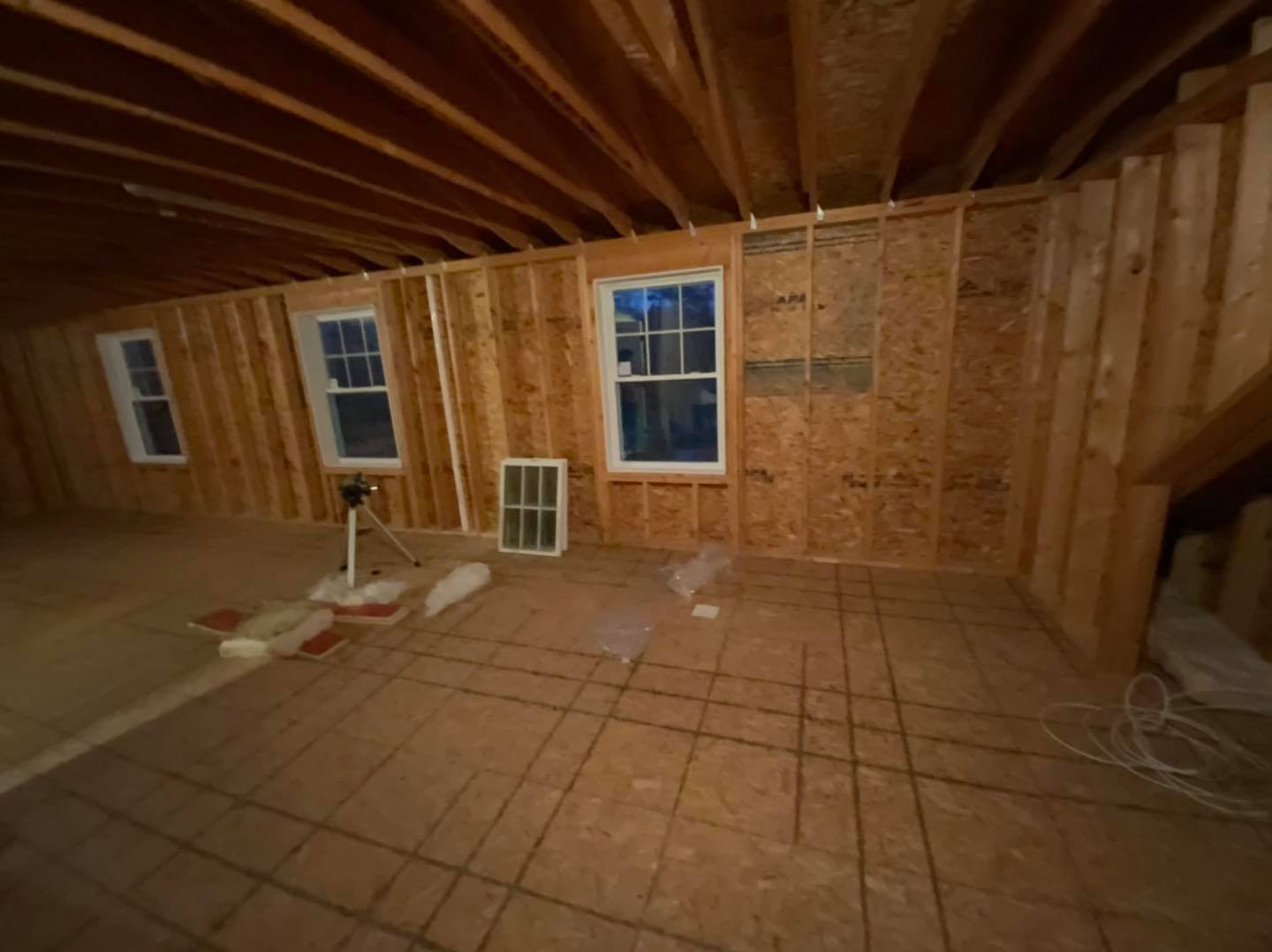 3rd Floor Attic Space