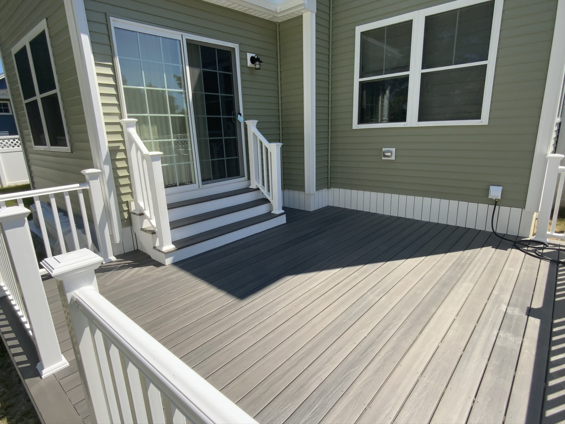 Deck Built in New Hampshire